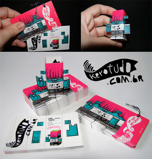 011 55 Unusual Yet Creative Business Card Designs