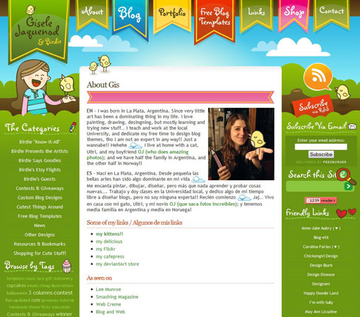 about 41 40 Groovy Examples of About Me Page Designs
