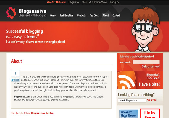 about me page designs31 40 Groovy Examples of About Me Page Designs