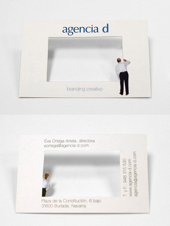 agencia d biglietto da visita l1 55 Particolare e creativo Designs Business Card