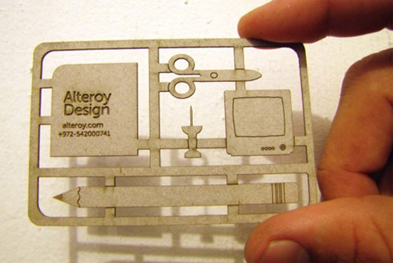 alteroy l1 55 Particolare e creativo Designs Business Card
