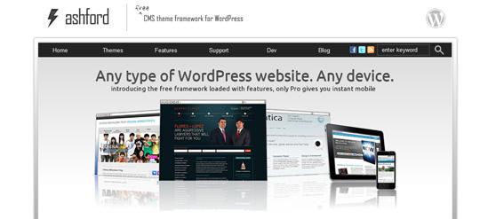 ashfold Top 10 Preferred WordPress Theme Development Frameworks