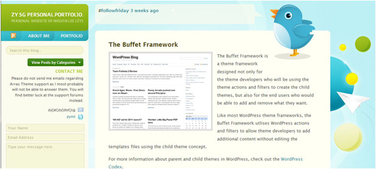 buffet1 Top 10 Preferred WordPress Theme Development Frameworks
