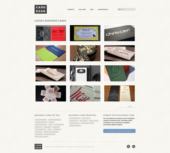 businesscarddesign1 40 Handsome Websites Powered by WordPress CMS