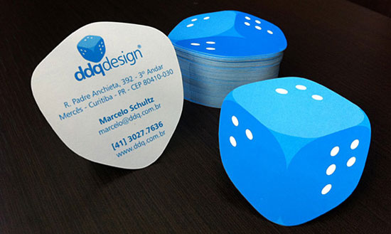 ddqdesign business card l1 55 Unusual Yet Creative Business Card Designs