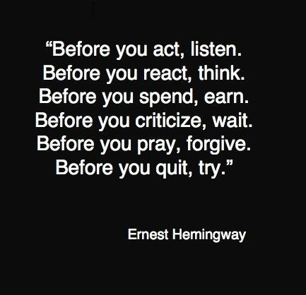 ernest hemingway 77751 433 4181 60 Inspiring Quotations That Will Change The Way You Think