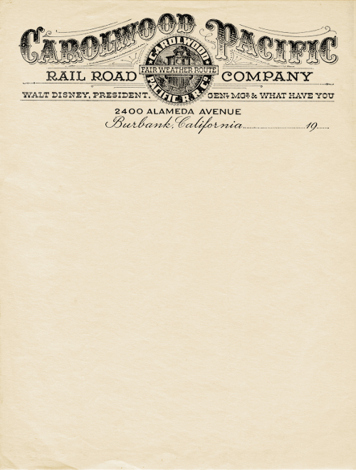 evolution of letterheads 1900 09 The Evolution of Letterheads Throughout The Years