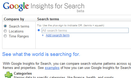 google insights for search Top 30 Powerful Google Products You Need To Know