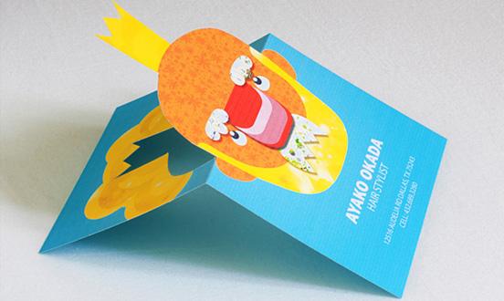 capelli biglietto da visita stilista l1 55 Particolare e creativo Designs Business Card