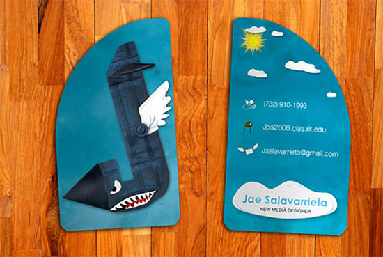 jae salavarrieta l1 55 Unusual Yet Creative Business Card Designs