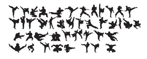 karatechop1 40 Free Highly Functional Dingbat Fonts