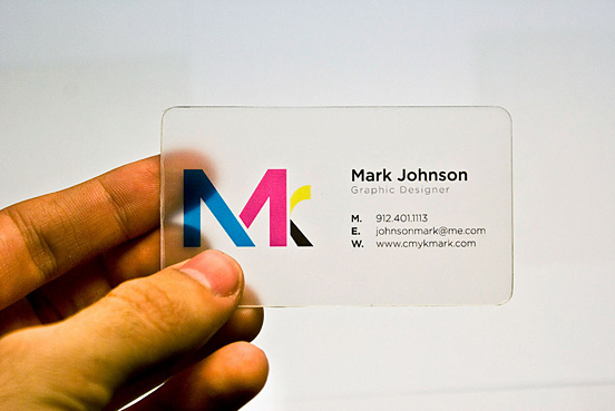 mark johnson l1 55 Unusual Yet Creative Business Card Designs