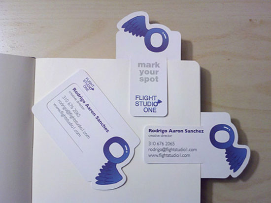 rodrigo sanchez business ca1 55 Unusual Yet Creative Business Card Designs