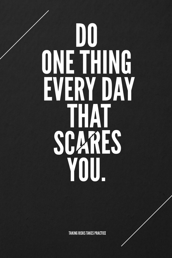 scare by marcusavedis d3emuvh1 60 Inspiring Quotations That Will Change The Way You Think