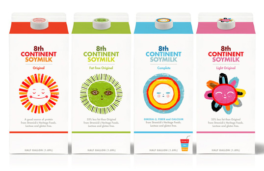 soy111 30 Wonderful Examples of Milk Packaging Design