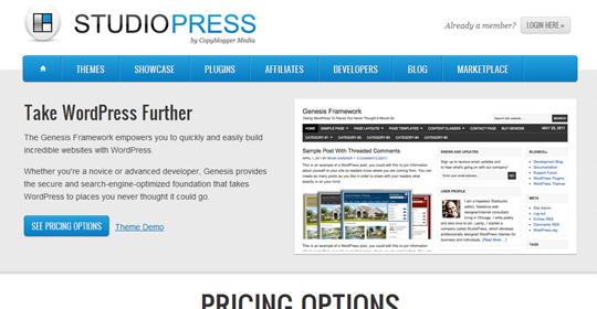 studiopress Top 10 Preferred WordPress Theme Development Frameworks