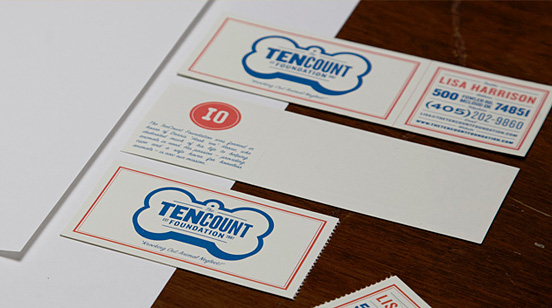 tencount business card l1 55 Unusual Yet Creative Business Card Designs