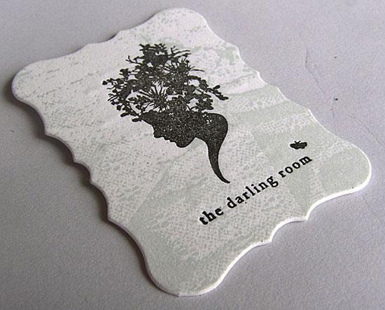 l'l1 sala darlling 55 Particolare e creativo Designs Business Card
