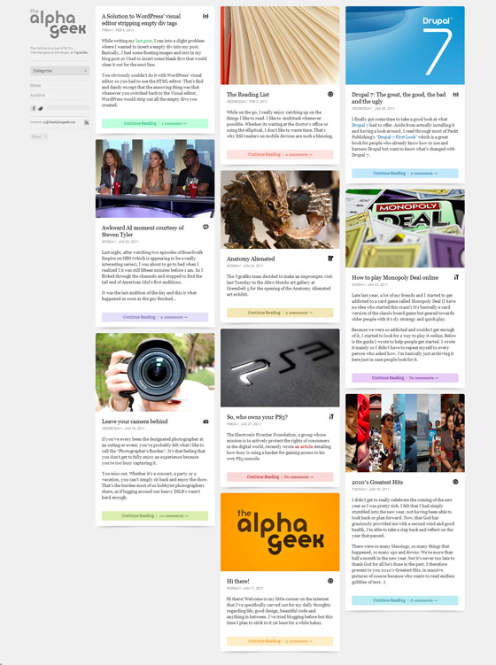 thealphageek1 40 Handsome Websites Powered by WordPress CMS