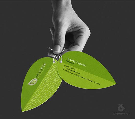 albero cavo l1 55 Particolare e creativo Designs Business Card