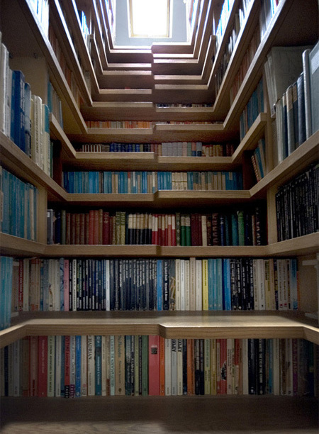 15892 612x612 21 50 Unique and Unconventional Bookcase Designs