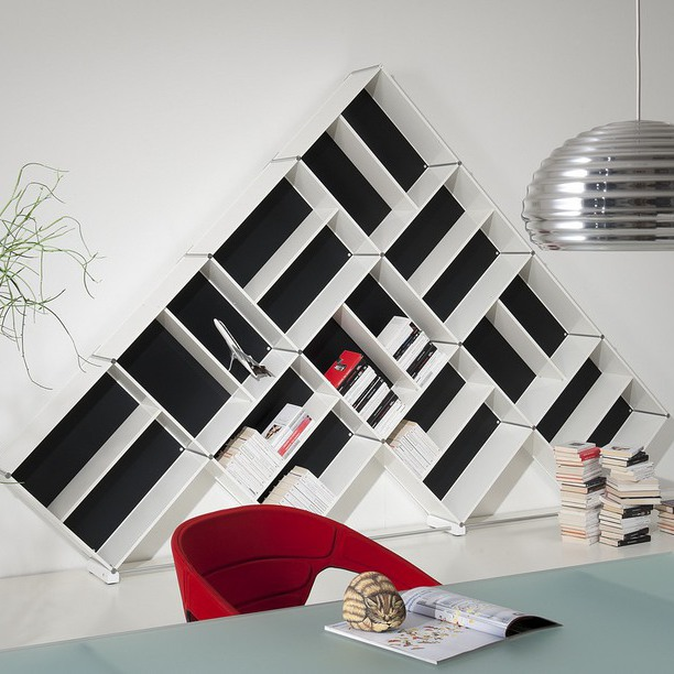 2991 612x612 21 50 Unique and Unconventional Bookcase Designs