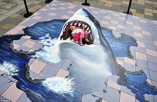 3d squalo attacco l1 55 Esempi Visionario di Creative Photography # 6