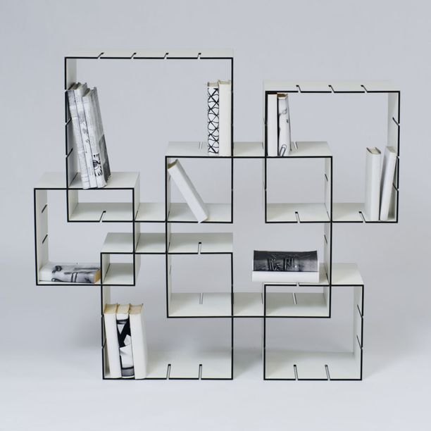 4226 612x612 21 50 Unique and Unconventional Bookcase Designs