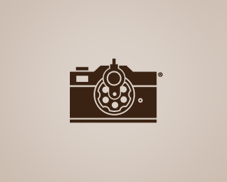 70ec3bacb7056be54b089f9724a8c11b1 51 Clever Camera and Photography Logo Designs