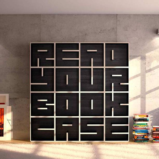 9582 612x612 21 50 Unique and Unconventional Bookcase Designs