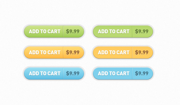 add to cart buttons 60 Stunning Pixel Perfect PSD Freebies #2