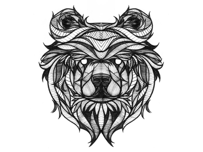 Bear Tattoo Designs Bears Drawing Ideas Brother