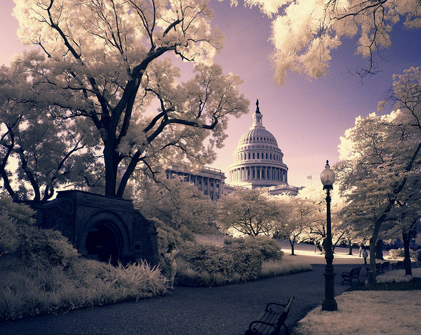 capitol exposure 45 Impressive Examples of Infrared Photography