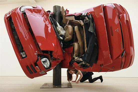 auto sculture incidente l1 55 Visionario Esempi di Creative Photography # 6
