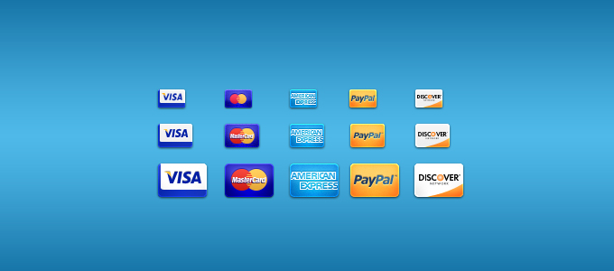 credit cards 1 01 60 Stunning Pixel Perfect PSD Freebies #2