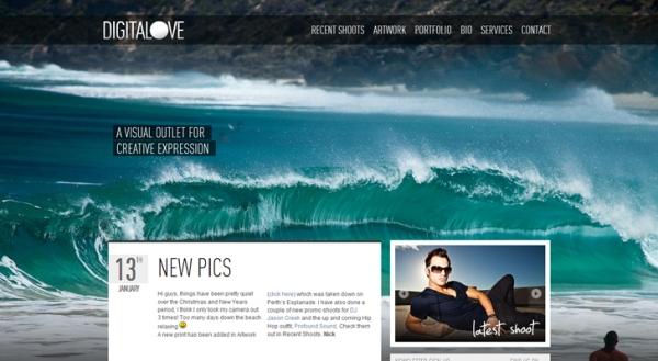 full screen backgrounds 101 50 Remarkable Websites With Full Screen Backgrounds