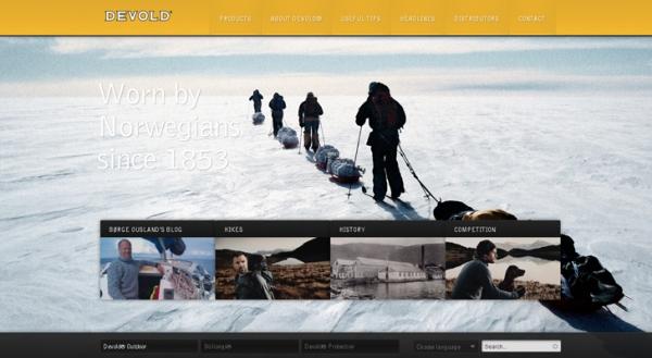 full screen backgrounds 561 50 Remarkable Websites With Full Screen Backgrounds