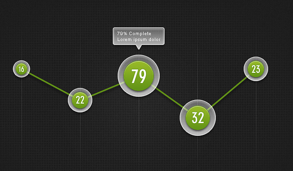 funky graph ui 60 Stunning Pixel Perfect PSD Freebies #2