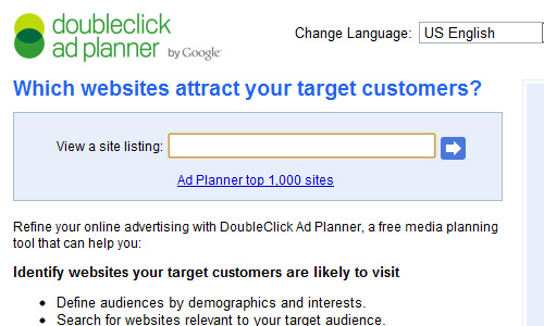 google ad planner Top 30 Powerful Google Products You Need To Know