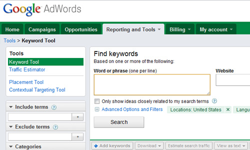 google keyword tool Top 30 Powerful Google Products You Need To Know