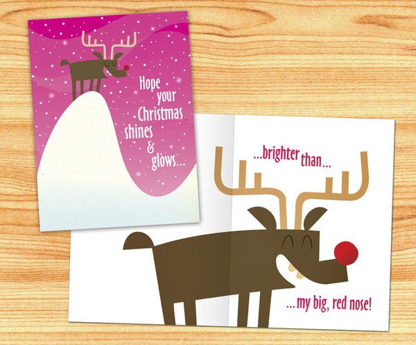 greeting cards 10 20 Fancy Holiday Greeting Card Designs