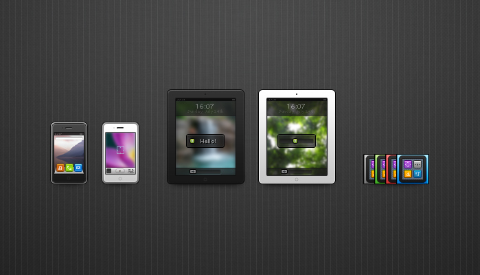 iunits preview1 60 Stunning Pixel Perfect PSD Freebies #2