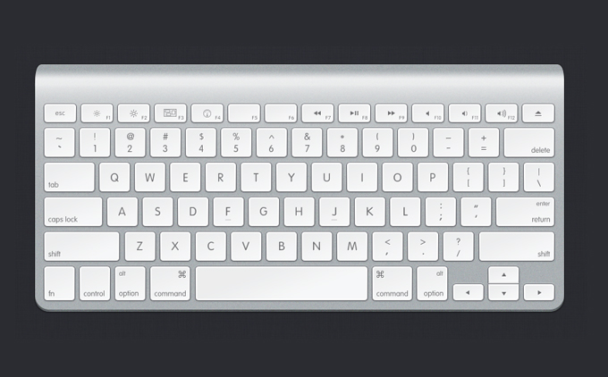 keyboard1 60 Stunning Pixel Perfect PSD Freebies #2