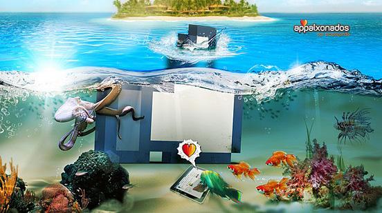 come underthewater l1 55 Esempi Visionario di Creative Photography # 6