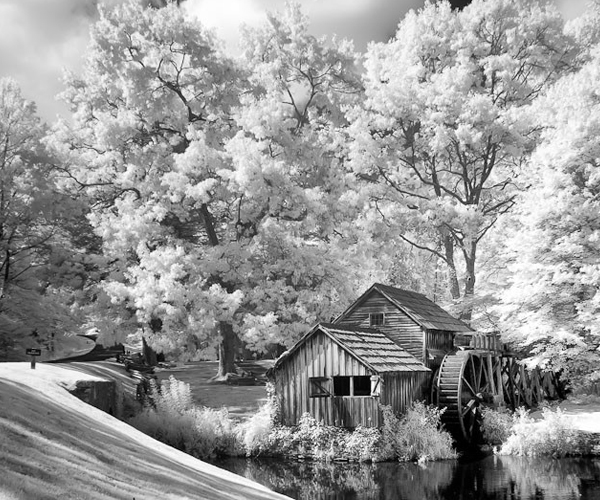 mabry mill 45 Impressive Examples of Infrared Photography
