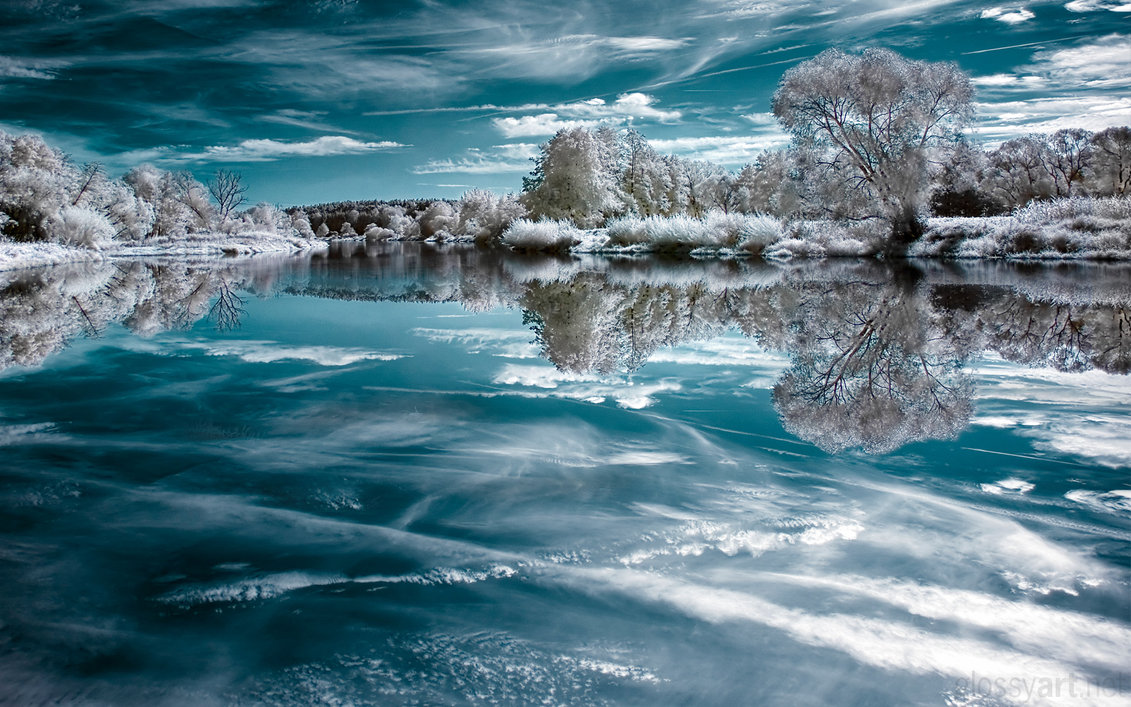 mirror ice infrared photography11 45 Impressive Examples of Infrared Photography