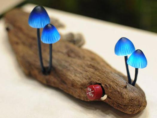 mushroom leds chillichilly thumb 525xauto 166391 60 Examples of Innovative Lighting Design
