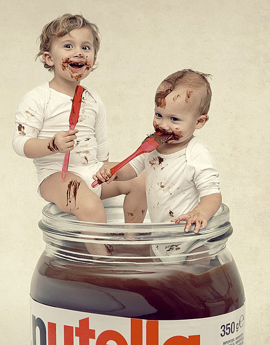 nuts about nutella l1 55 Visionary Examples of Creative Photography #6