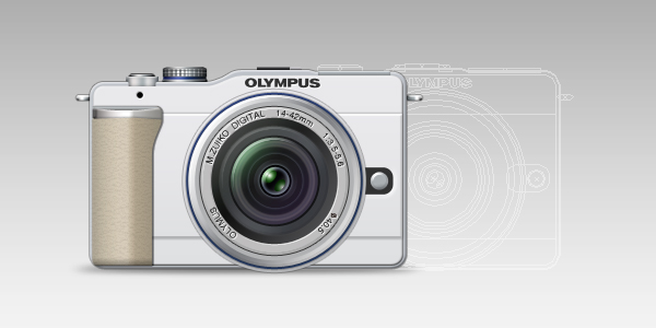 olympus pen lite e pl1 60 Stunning Pixel Perfect PSD Freebies #2