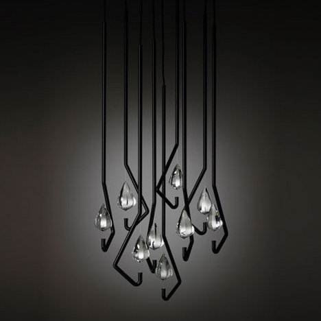 one crystal chandelier thomas feichtner 21 60 Examples of Innovative Lighting Design